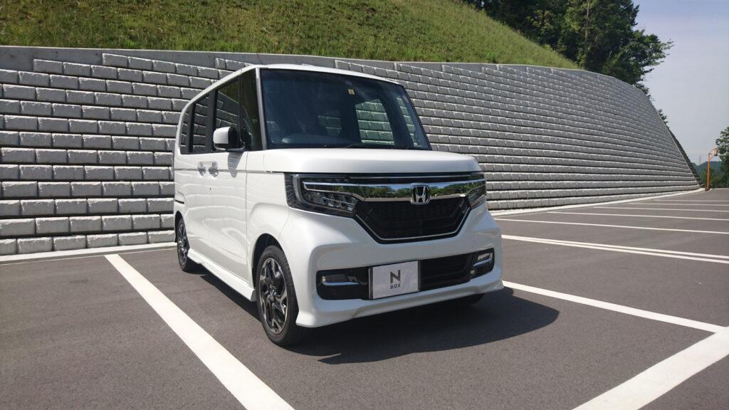 ホンダ N-BOX カスタム GL ターボ FF 納車