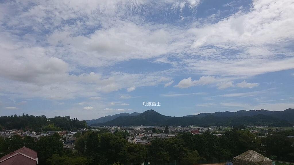 篠山城 丹波富士