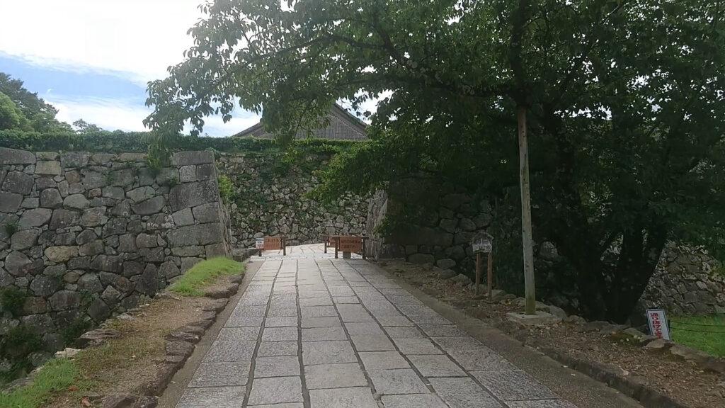 篠山城 鉄御門跡