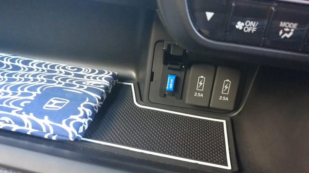 N-BOX 超小型USBメモリをセット