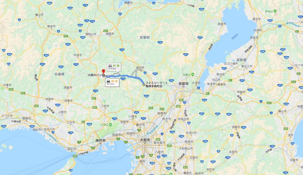 亀岡~丹波篠山