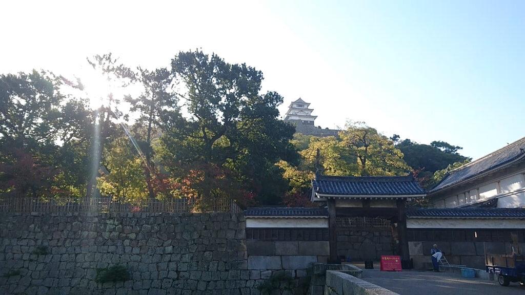 丸亀城 追手門