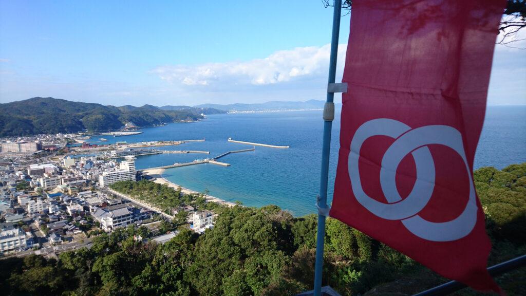 洲本城からの眺め